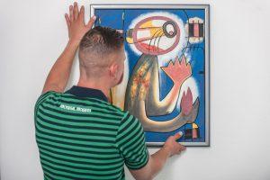 Mondial movers Van Buuren verhuizingen verhuist kunst